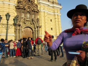 Chicklet Seller, Lima
