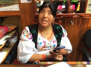 Doña Matilde, Hostal Curiñan co-owner