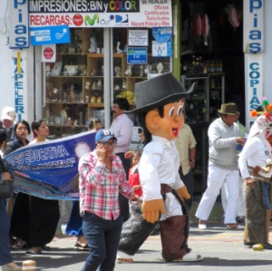 BigHead, Inti-Raymi parade