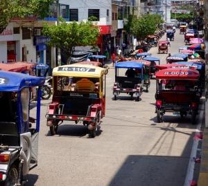 Mototaxis in Yurimaguas