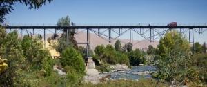 El Puente Bolivar in Arequipa, Perú